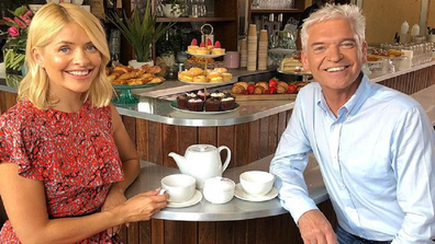 Holly Willoughby and Phillip Schofields host ITV's This Morning in the UK.