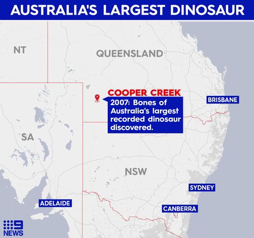 Cooper dinosaur