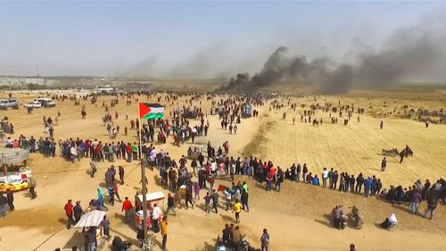 Every Friday for over a year there have been violent protests at the border, where Palestinians rally against the blockade.