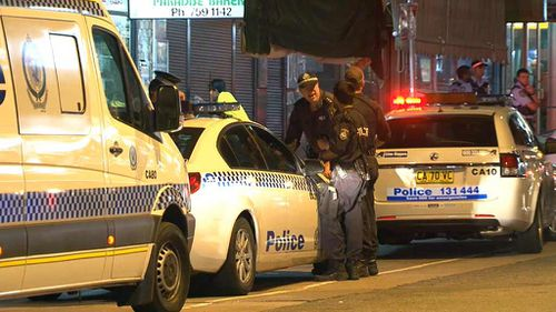 Police arrested three men for questioning. (9NEWS)