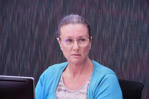 Kathleen Folbigg appeared by video link at the inquiry.