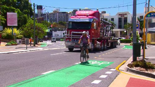 Brisbane 'cyclist blackspots' to receive protected and permanent bike lanes in $11m project