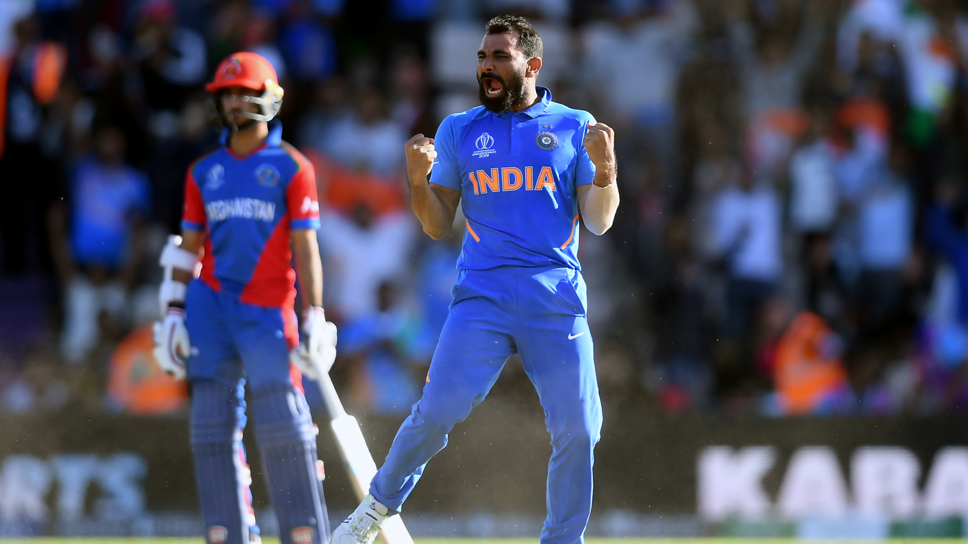 Mohammad Shami hat-trick seals narrow India victory over Afghanistan