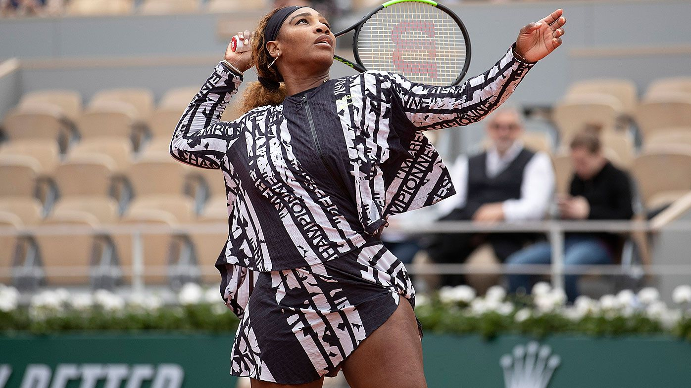 The empowering hidden message in Serena Williams' French Open outfit, Nadal and Djokovic progress
