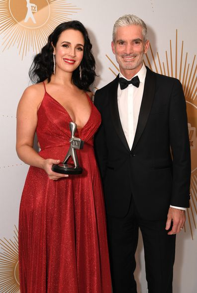 Lucy Zelic and Craig Foster win Logie