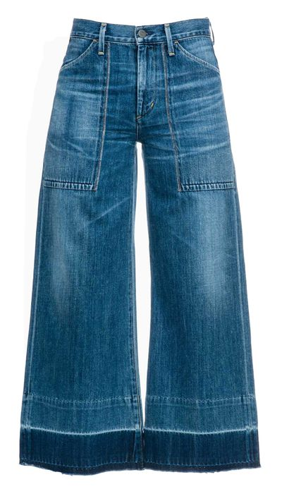 <p>Lovers of Rachel Comey's cult Legion jeans will adore this denim-culotte hybrid.</p>