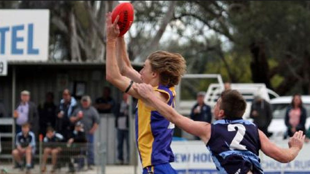 Todd Marshall in action for his club Deniliquin.(Supplied)