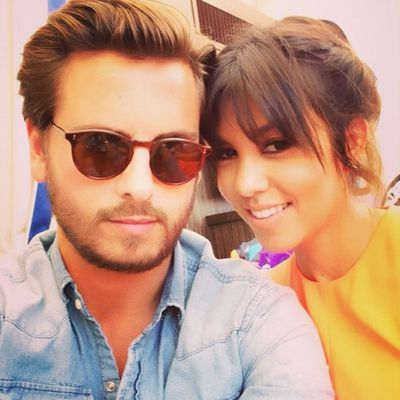 That time Kourtney Kardashian's partner, Scott Disick, publicly cheated on her