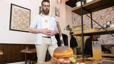 Man eats 86 burgers