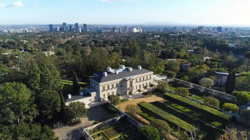The four hectare estate in Bel-Air was last owned by Univision chair A. Jerrold Perenchio.
