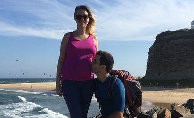 Baby saved new mum's life pregnant