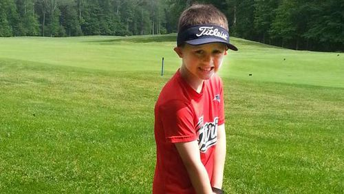 Boy, six, to play one hundred holes of golf to honour classmate lost to cancer