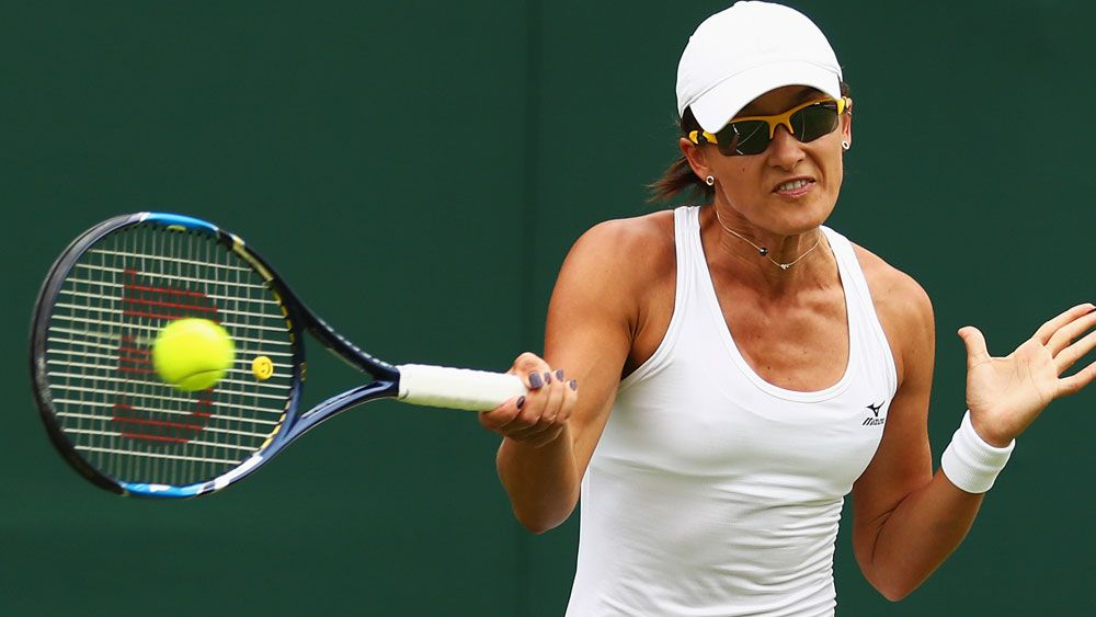 Brave Arina Rodionova Australia's lone crusader at Wimbledon