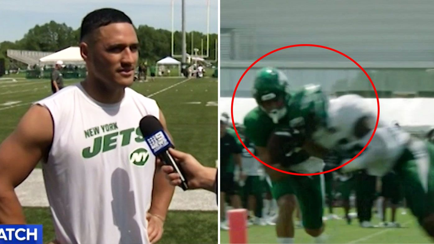 Valentine Holmes impresses with Jets