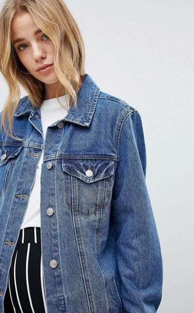 "<p>Make your jacket big enough to belt</p> <p><a href=""http://www.asos.com/au/new-look/new-look-longline-denim-jacket/prd/8895834?clr=midblue&amp;SearchQuery=denim%20jacket&amp;gridcolumn=1&amp;gridrow=7&amp;gridsize=4&amp;pge=1&amp;pgesize=72&amp;totalstyles=552"" target=""_blank"" draggable=""false"">New Look long line denim jacket, $70at Asos</a></p>"
