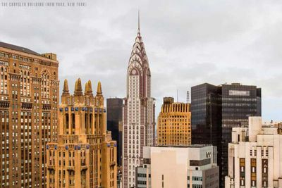 The Chrysler Building re-imagined in a Gothic design