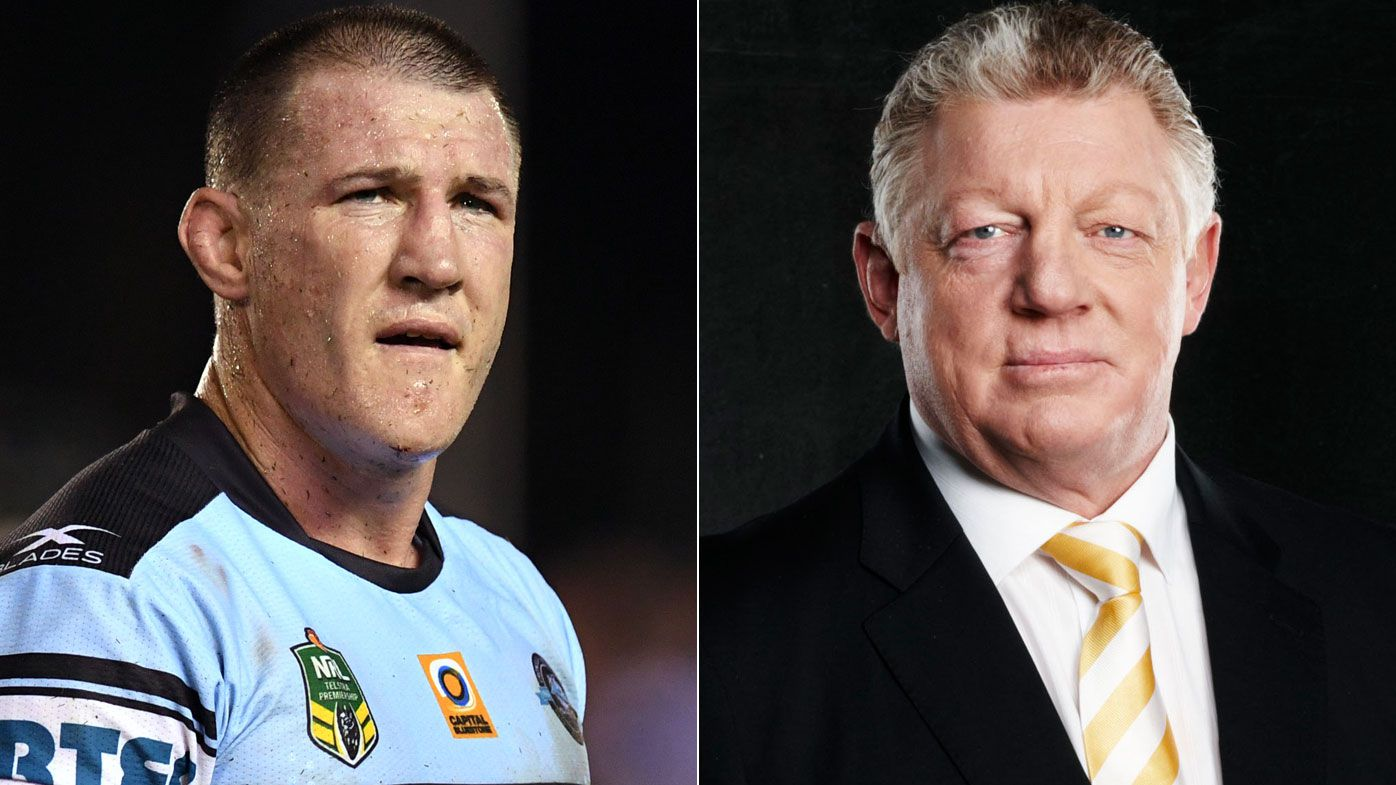 Phil Gould and Paul Gallen trade barbs in promotion for Channel 9's '100% Footy' program