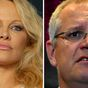 Pamela Anderson knocks PM's 'lewd' comments