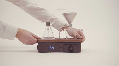 Magical alarm clock also makes your coffee