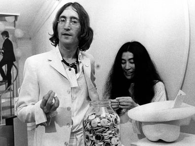 John Lennon and Yoko Ono pictured in 1968.