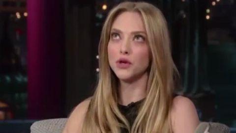 'I'm pretty drunk': Amanda Seyfried's awkward tipsy TV interview