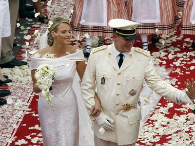 Prince Albert II of Monaco and Princess Charlene, 2011