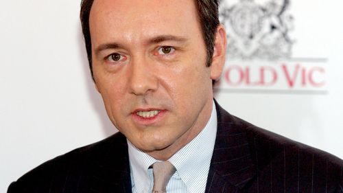 A file photograph shows Kevin Spacey at the Old Vic in 2003. (AAP)