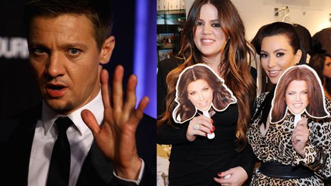 'Stupid people with zero talent': Bourne star Jeremy Renner blasts Kardashians