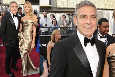 George Clooney and a tux with silk lapels? Yes, please. (As if he could look bad with Stacy Kiebler hanging off his arm, anyway!)