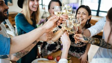 Dinner parties could be back on the cards soon - but only for five fully vaccinated adults.