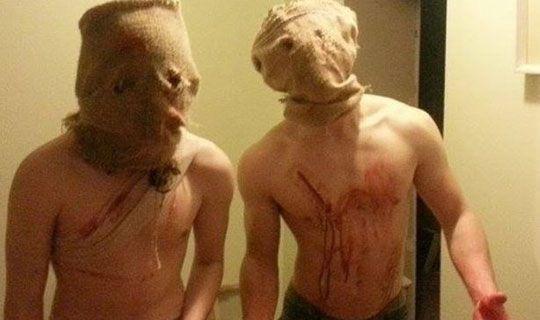 Halloween neighbourhood terror