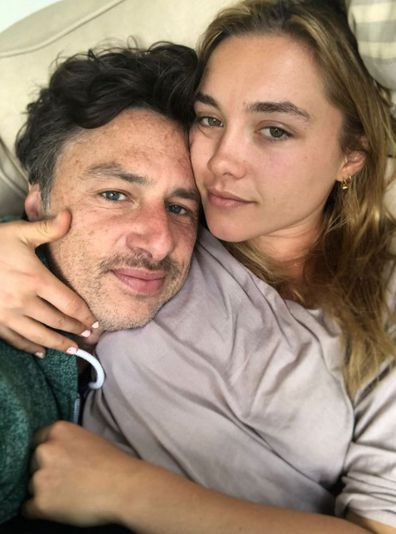 Zach Braff, girlfriend Florence Pugh, birthday message, greeting, Instagram