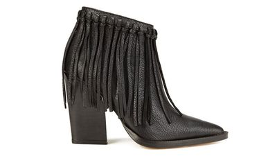 "<a href=""http://www.coggles.com/boots-clothing/women/footwear/by-malene-birger-women-s-ounni-leather-tassel-ankle-boots-black/11023754.html""> Ounni Leather Tassel Ankle Boot, $627.25, By Malene Birger </a>"