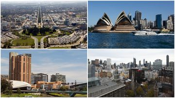 Four major Australian cities to reach sizzling temperatures simultaneously