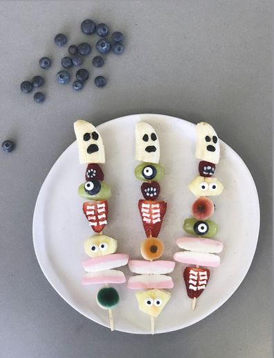 spooky fruit for halloween