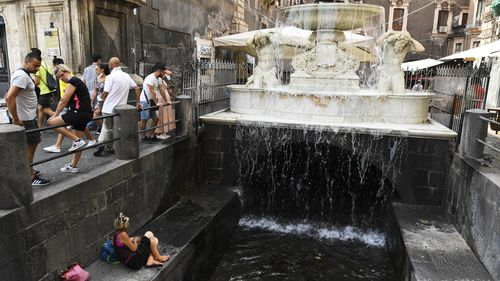 Italy may have recorded a new temperature record