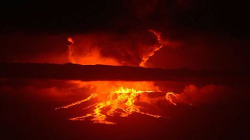 Dormant Galapagos Islands volcano erupts for first time in three decades