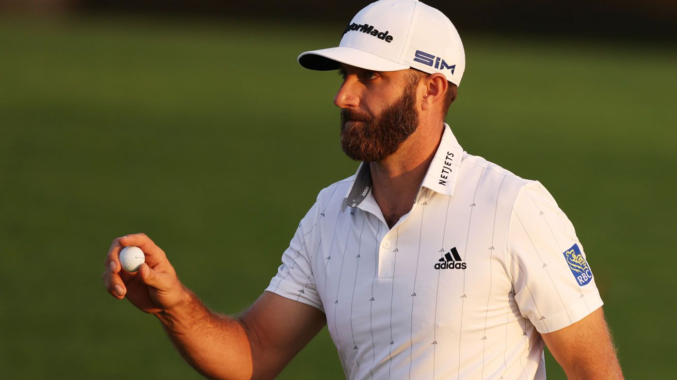 Cameron Smith has share of second place as Dustin Johnson takes lead into final round