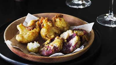 """<a href=""""http://kitchen.nine.com.au/2016/05/16/15/34/battered-beetroot-and-cauliflower"""" target=""""_top"""">Battered beetroot and cauliflower<br> </a>"""