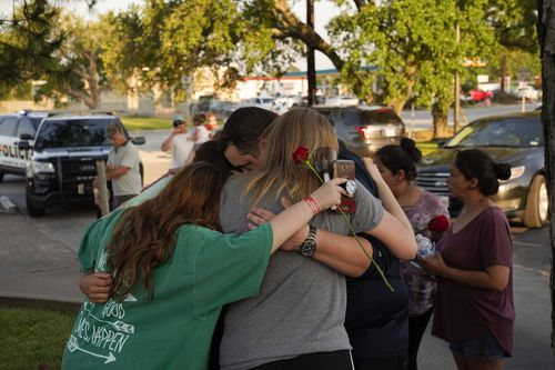 The school community is rallying together in the aftermath of the shooting. (AAP)