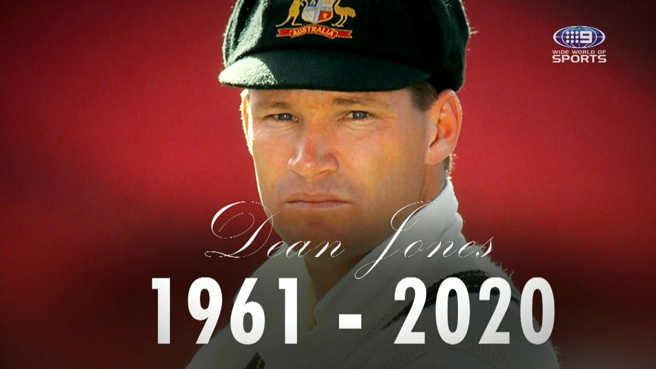 Dean Jones' wife reveals cricket legend's cause of death was a catastrophic stroke