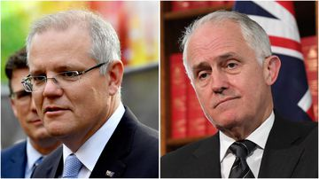 Scott Morrison said it had been a while since he heard from former PM Malcolm Turnbull.