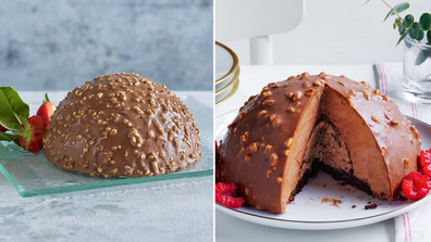 Aldi UK and Coles both release a Ferrero Rocher look-alike dessert for their Christmas range
