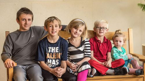 Adoption offers pour in for five US siblings who want to stay together