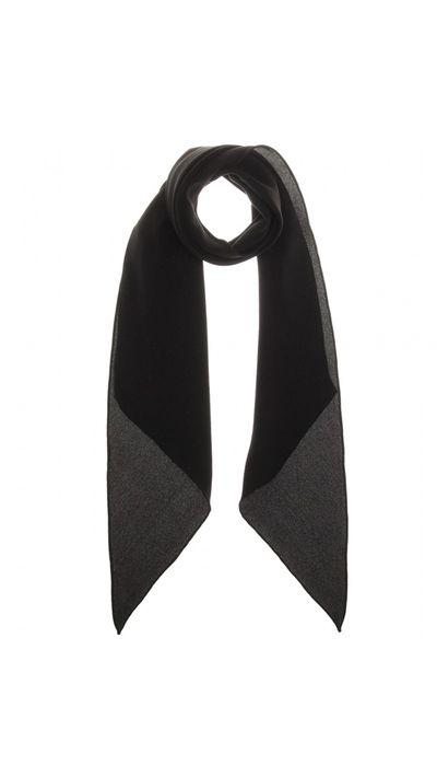 "<p><a href=""http://www.mytheresa.com/en-au/silk-scarf-396805.html"" target=""_blank"">Silk Scarf, $289, Saint Laurent</a></p>"