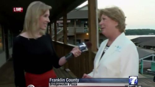 WDBJ7 reporter Alison Parker was interviewing Vicki Gardner when the shooter fired.