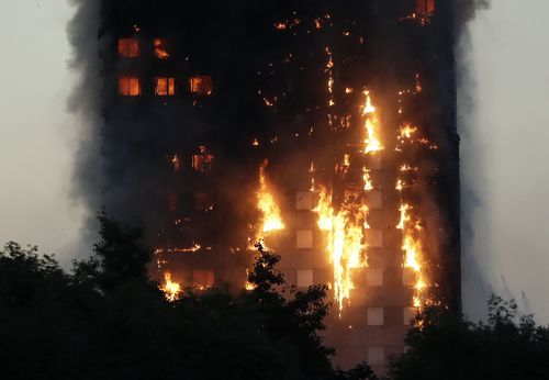 The flammable cladding material that caused the Grenfell disaster was aluminium composite panelling (ACP) with a polyethylene core.