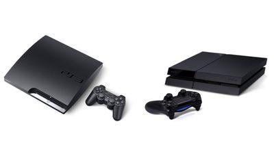 PS3 Slim vs PS4 Pro