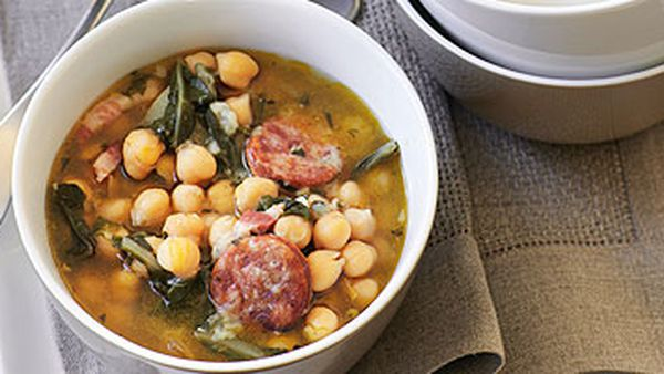 Spanish Chickpea Soup