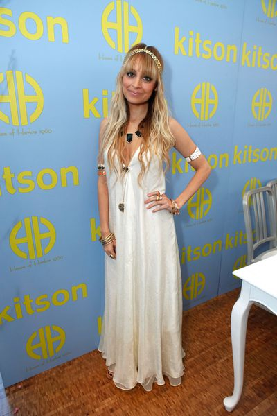 Nicole Richie at the House of Harlow X Kitson launch in Los Angeles, March, 2009